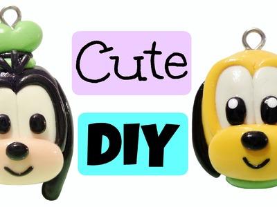 Kawaii Polymer Clay Charms | Goofy & Pluto |