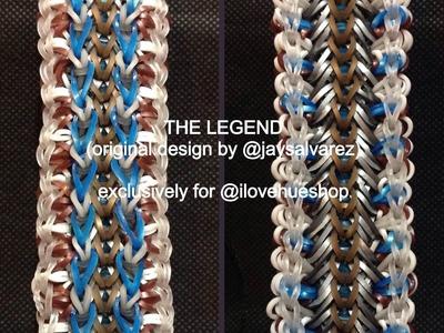LEGEND loom tutorial by @jaysalvarez for ILOVEHUESHOP