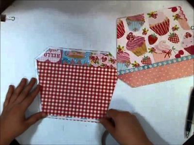 Little Miss Cupcake Scrapbook Part 6
