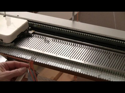 Machine Knitted Twisted Fringe by Diana Sullivan
