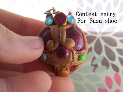 Polymer Clay: Suzu Shoe Contest entry