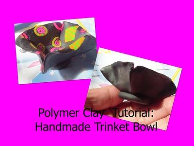 Polymer Clay Trinket Bowl Tutorial!