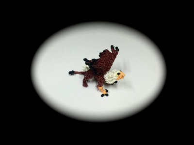 Rainbow Loom Griffin.Gryphon Baby (1 Loom)