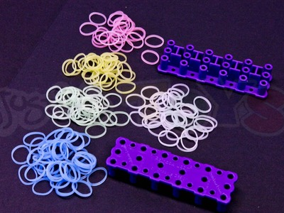 Rainbow Loom New Product - Color Changing Solar UV Bands