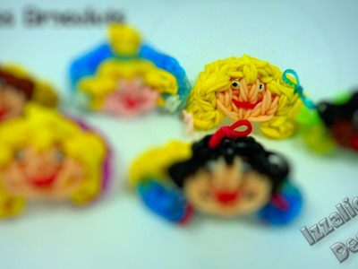 Rainbow Loom Rapunzel Princess Bracelet Tutorial