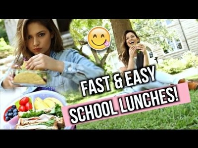 Back To School: Easy and Healthy Lunch Ideas!