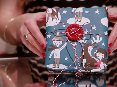 Craft Corner: How to add vintage style to Christmas wrapping