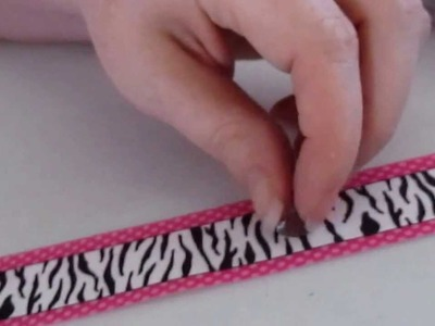 Crafting Kitty Episode 1: How to make a bow hanger