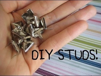 DIY: Old Belt to STUDS