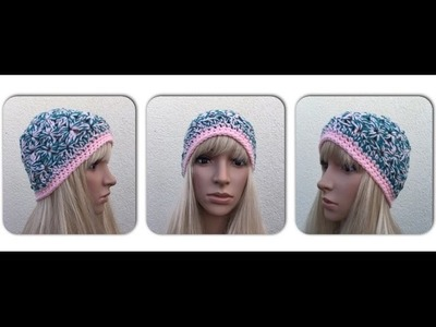 How to Crochet a Beanie Hat Pattern #25│by ThePatterfamily