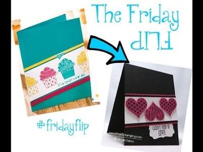 Paper Crafts Idea - Friday Flip Groovy Love