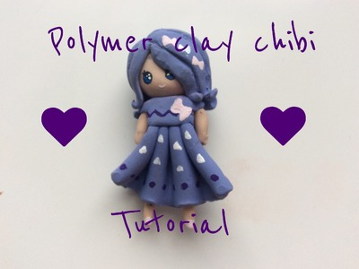 Polymer clay chibi tutorial
