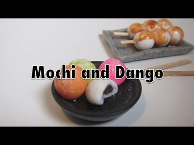 Polymer Clay Mochi and Dango