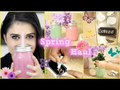 Arts & Craft Store Haul + Spring Projects