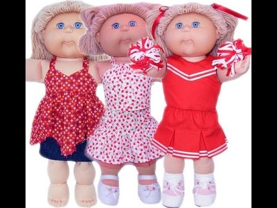 Cabbage Patch Kids Doll Clothes Patterns 3 Way Skirt