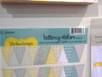 CHA 2012 - Lily Bee Designs - Buttercup Scrapbook Collection