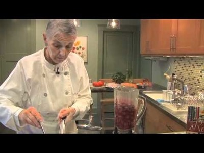 CHERRY SOUP Blender Blooper with Judith Choate, author of A Reader's Cookbook