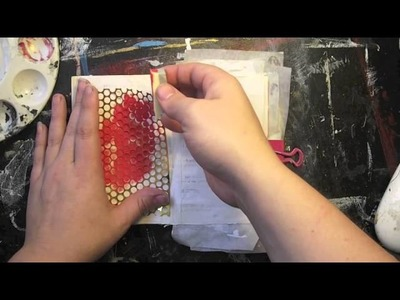 Crafty Moira How To: Punchinella Sequin Waste