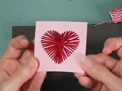 Cross My Heart Card - Stampin' Up! Paper Piercing Pack