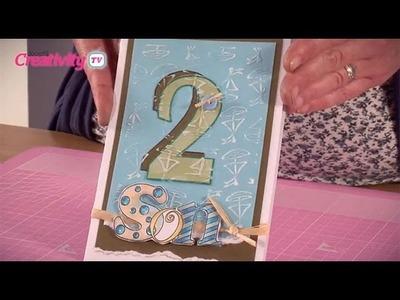 Handmade Birthday Card For A Boy Tutorial | docrafts Creativity TV