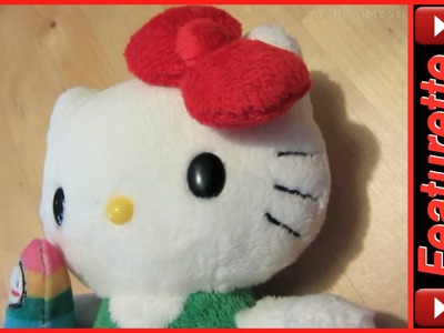 Hello Kitty Plush Stuffed Animal Doll For Kids w. Classic Bow & Wish Come True Costume Series