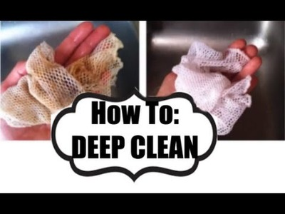 How to Deep Clean the Norwex Dish Cloth