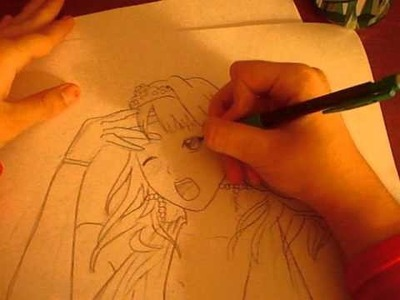 How to Draw Kaluha Shuzen:Rosario+Vampire; By Brianna4001