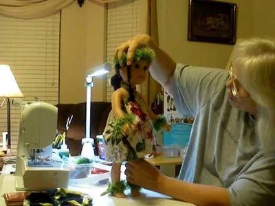 How to Make a Hawaiian Doll Sarong