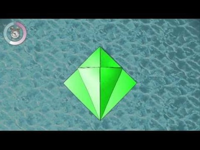 How to make a origami turtle