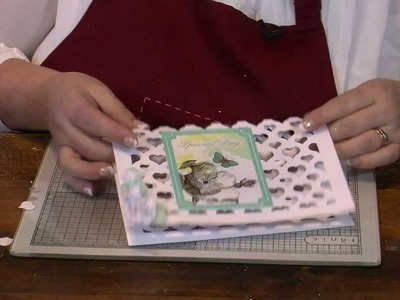How to - Ornamental Die Cut papers  from Stephanie Weightman for Hobbycraft