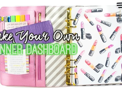 Make Your Own Planner Dashboard With Any Image. villabeauTiFFul