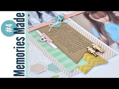 Memories Made #4 Scrapbooking Process Video: Personal Space