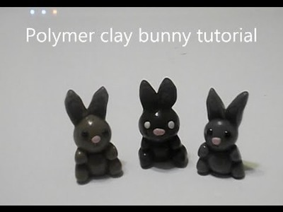 Polymer clay bunny rabbit tutorial