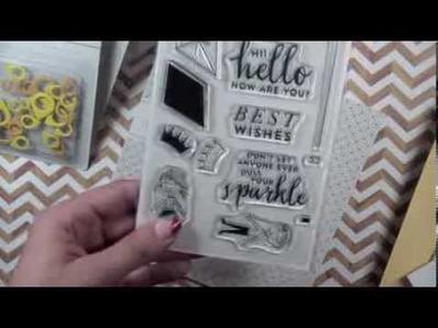 Scrapbook & Projectlife Haul 2014- Studio Calico, Elle's studio, Joann etc.