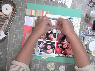 Scrapbooking Process: Shades of NYC