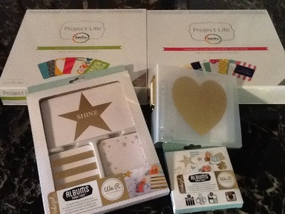 Scrapbooking Project Life Haul (FREE Canadian Shipping!!!! From Scrapbookersinnercircle)