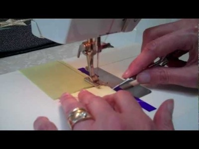 """SEWING 1.4"""" SEAMS -- Sewing (#3 of 7 videos) - LearnHowToQuilt.com BEGINNER BASICS"""