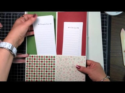Stampin' Up! Video Tutorial- Holiday Planner Stampin' Up! Style