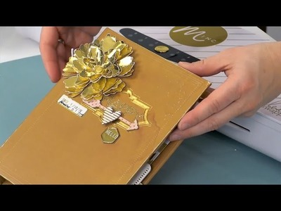 Tips and tricks for Crafting 3D butterfly and flower embellishments using the Minc Foil Applicator