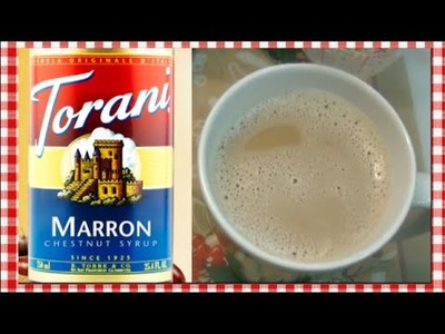 Vanilla Cinnamon Chestnut Homestyle Latte Recipe ~ Noreen's Kitchen