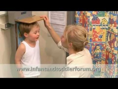 1. How to measure growth in infants and toddlers: Introduction