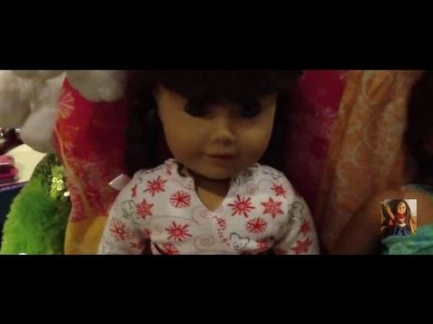 American Girl Dolls Pajamas Style!