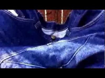 Diamond Gusset Jeans - Real Jeans!!