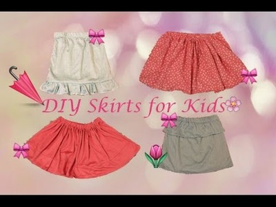 DIY Skirt with elastic waistband , Sewing project for Beginners