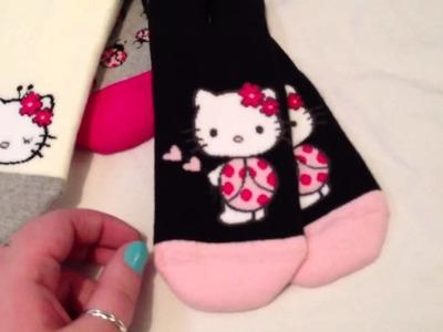 HelloKittyGoodies - Hello Kitty H&M socks