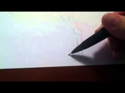 How to draw a wolf side view. Pencil drawing (Part 1)