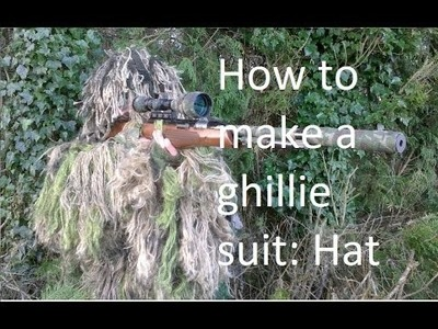 How to make a ghillie suit: hat