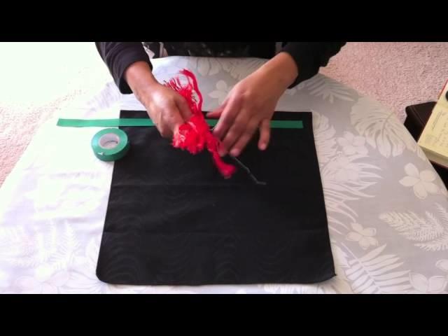How to Make a Pohutukawa Flower