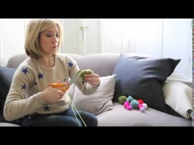 How to make a pompom the easy way