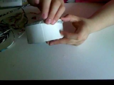 How to make a recycle jewelry box